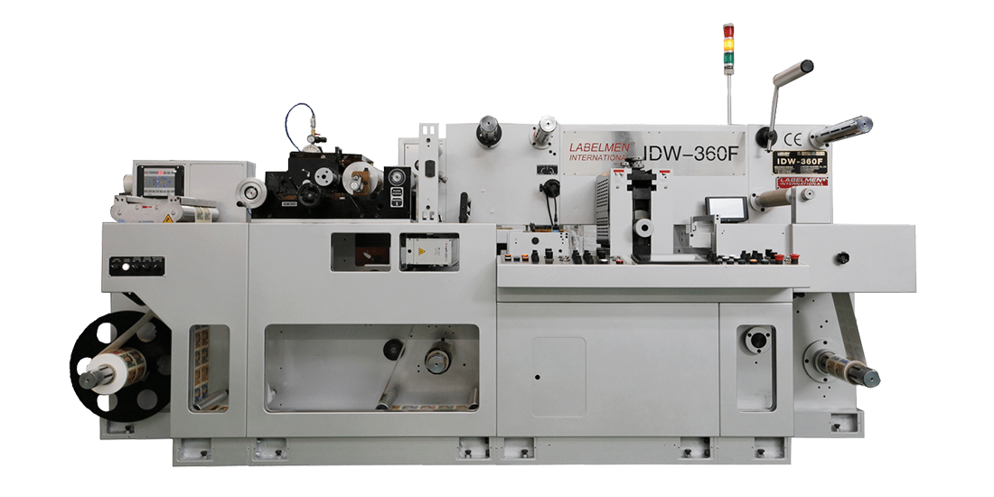 HIGH SPEED FULL ROTARY UV FLEXO & INTERMITTENT (SEMI ROTARY) DIE CUTTING MACHINE (IDW 360F SERIES)