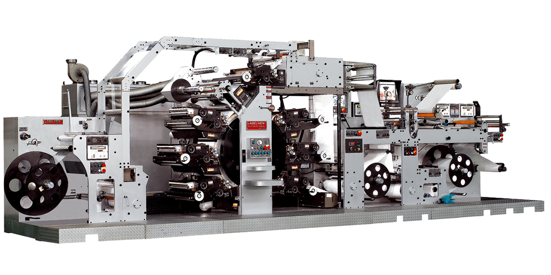 C.I.D. FULL ROTARY PRINTING MACHINE FOR IN MOLD LABEL INDUSTRY (PW 260 / PW 460 LETTERPRESS SERIES,  FPW 460 FLEXO SERIES)