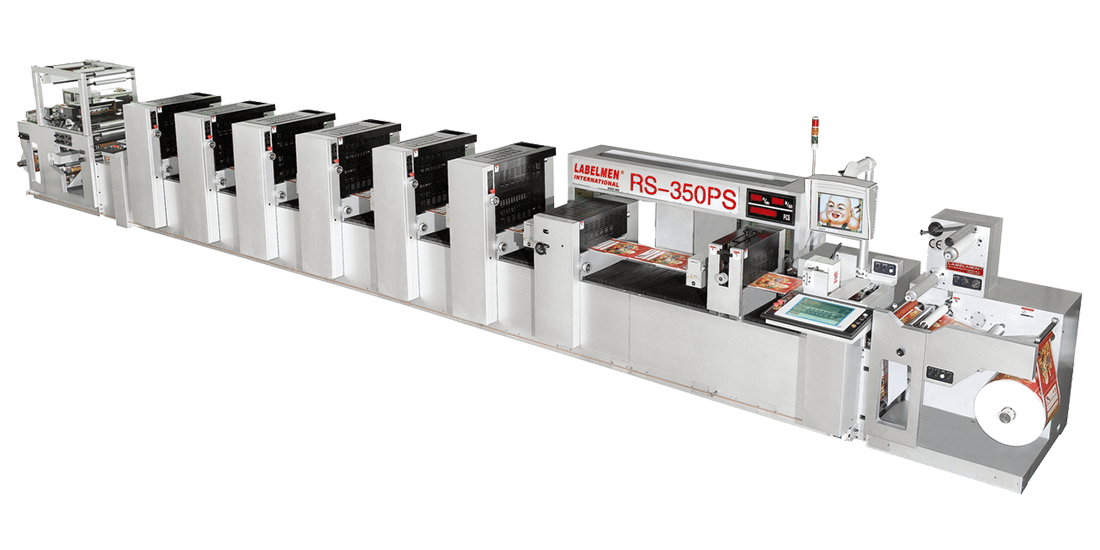 OFFSET PRINTING MACHINE -FULL ROTARY / INTERMITTENT (SEMI ROTARY) SHAFTLESS OFFSET PRINTING MACHINE (RS-350PS SERIES)