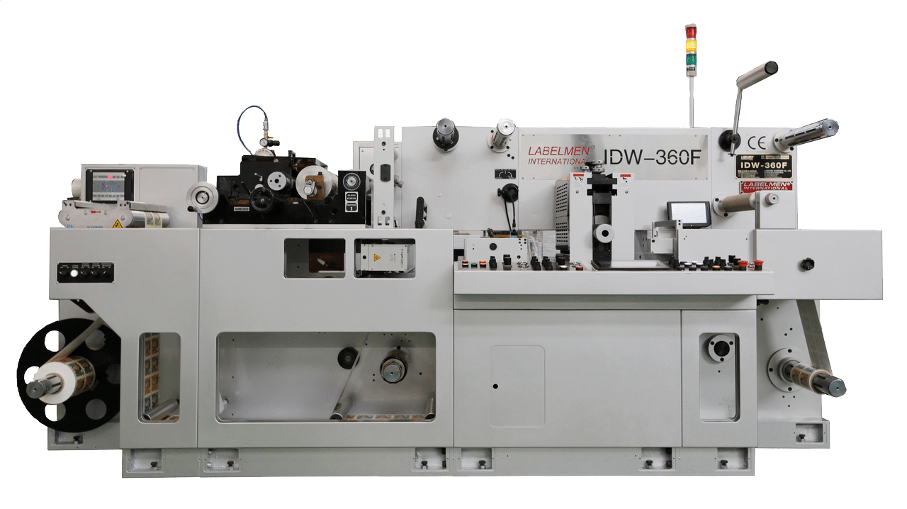 HIGH SPEED FULL ROTARY UV FLEXO & INTERMITTENT (SEMI ROTARY) DIE CUTTING MACHINE-IDW 360F
