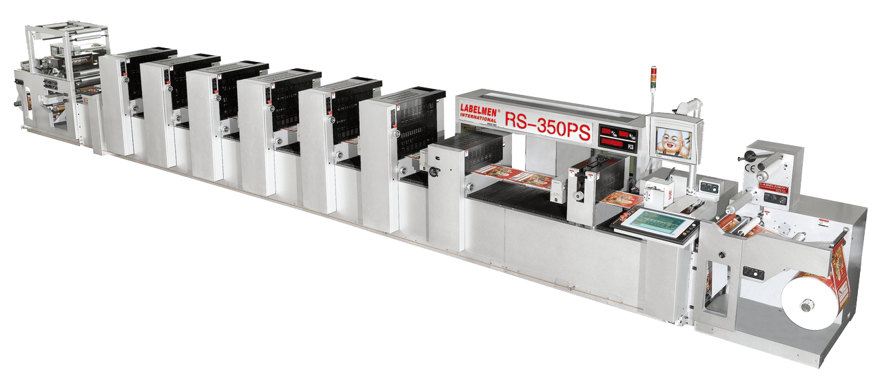 FULL ROTARY / INTERMITTENT (SEMI ROTARY) SHAFTLESS OFFSET PRINTING MACHINE-RS-350PS