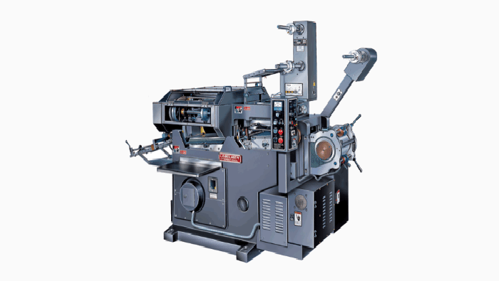 FLAT-BED LETTERPRESS PRINTING MACHINE