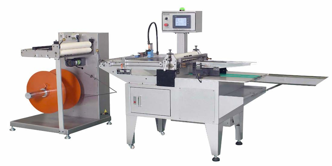 SHEETER-SHEETING SIZE CHANGES JUST SIMPLY INPUT IN HMI TOUCH SCREEN(AC-450 SERIES)