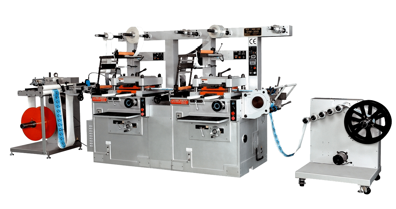 HIGH SPEED DUAL STATIONS FLAT-BED DIE-CUTTING (HOT STAMPING, EMBOSSING) MACHINE-DW-360II