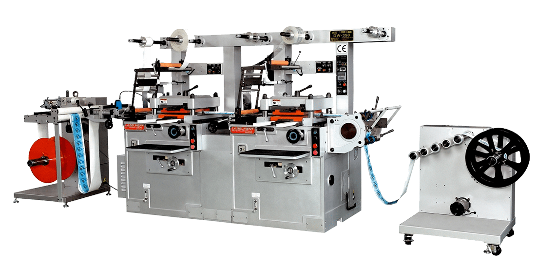 FULL ROTARY LETTERPRESS PRINTING MACHINE FOR IN MOLD LABEL INDUSTRY-DW-360II