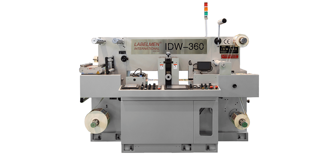 HIGH SPEED FULL ROTARY / INTERMITTENT (SEMI ROTARY) DIE CUTTING MACHINE (IDW-360 SERIES)