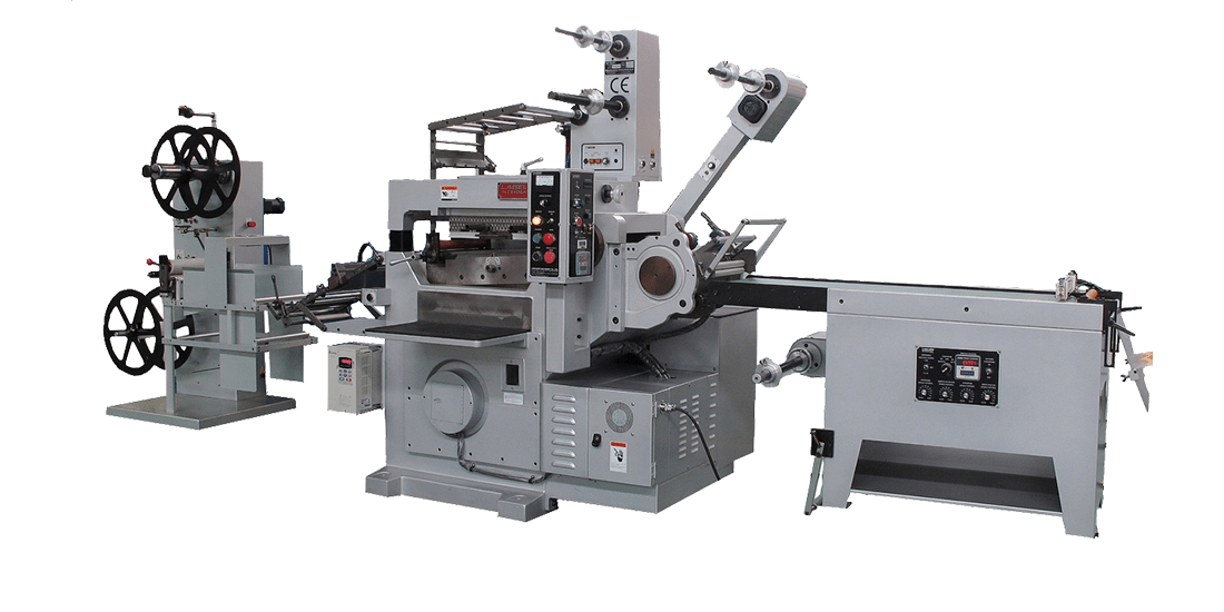 SPECIAL FLAT-BED DIE-CUTTING / THROUGH-CUT / HOT STAMPING (EMBOSSING) MACHINE (DW-320 IML)