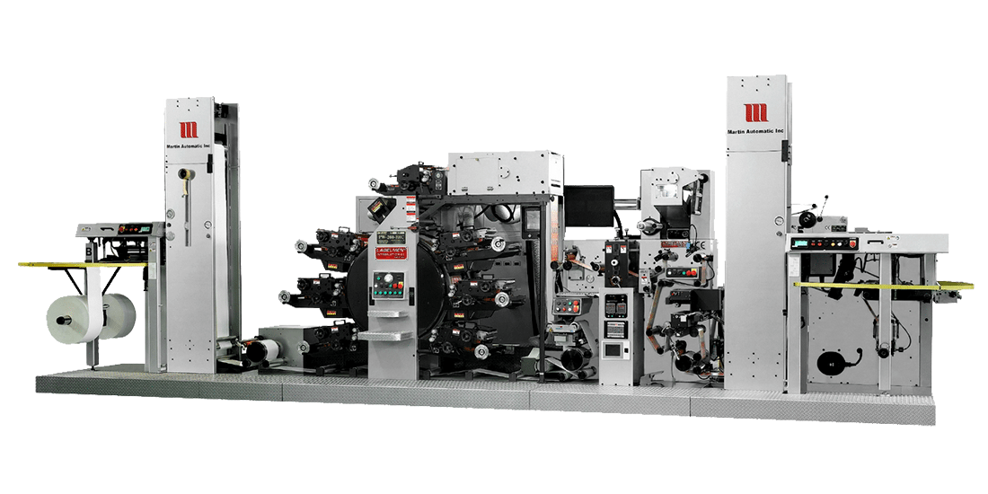 C.I.D. FULL ROTARY PRINTING MACHINE FOR REGULAR LABEL INDUSTRY (PW 260 / PW 460 LETTERPRESS SERIES,  FPW 460 FLEXO SERIES)
