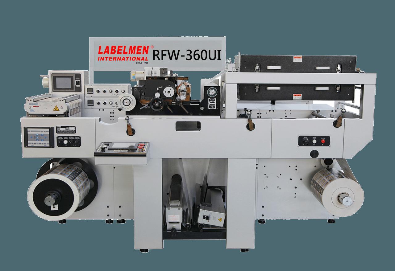 HIGH SPEED FULL ROTARY FLEXO (PRIMER COATING) MACHINE FLEXO VARNISH-RFW-360
