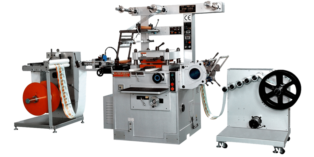 HIGH SPEED SINGLE STATION FLAT-BED DIE-CUTTING (HOT STAMPING, EMBOSSING) MACHINE (DW-360 SERIES)