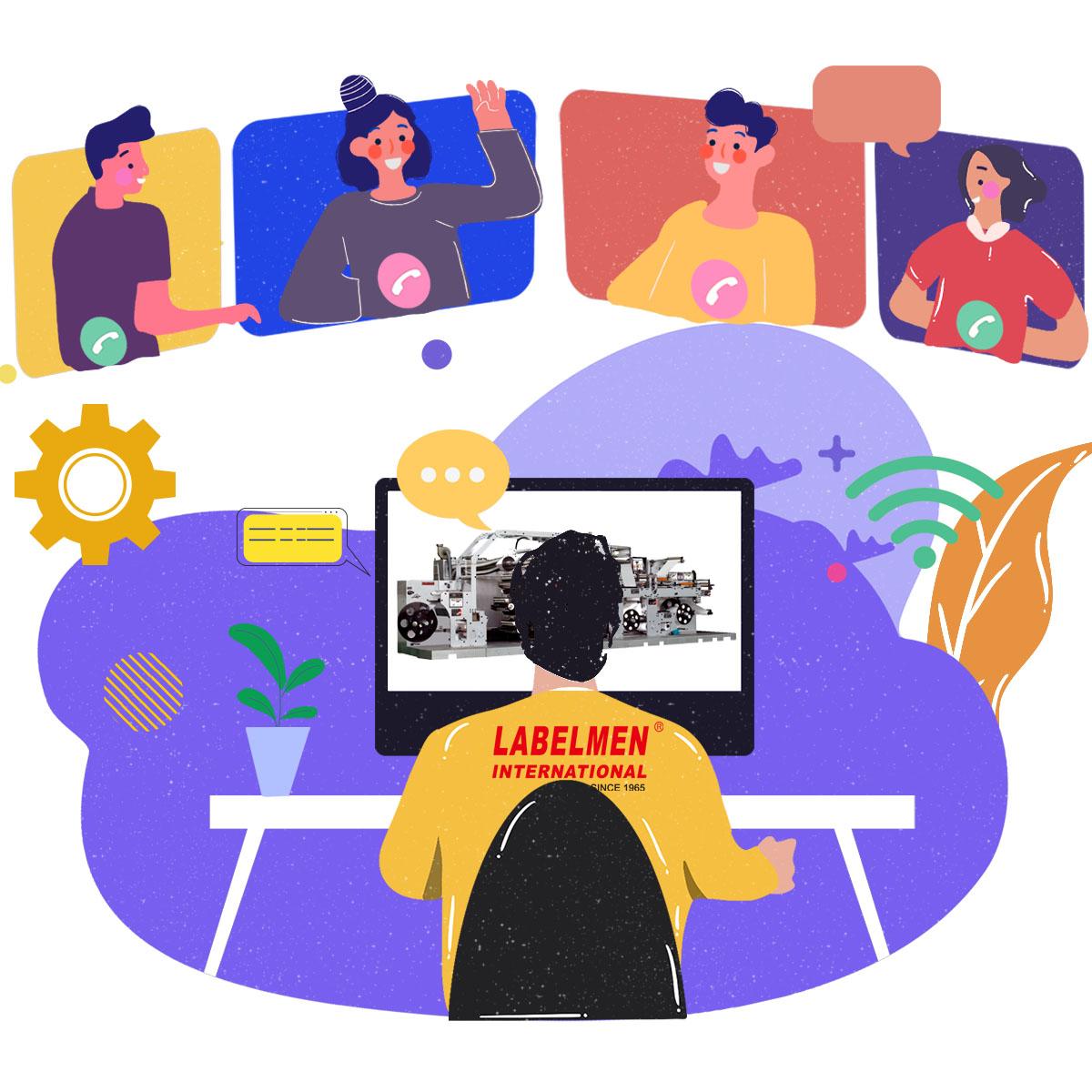 LABELMEN video conference