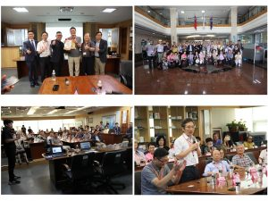 Welcome the National Taipei University of Technology Department of Materials and Mineral Resources Engineering Education Foundation to visit