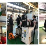 Thank you customers for coming to LABELMEN to inspect machines even after the epidemic is so severe