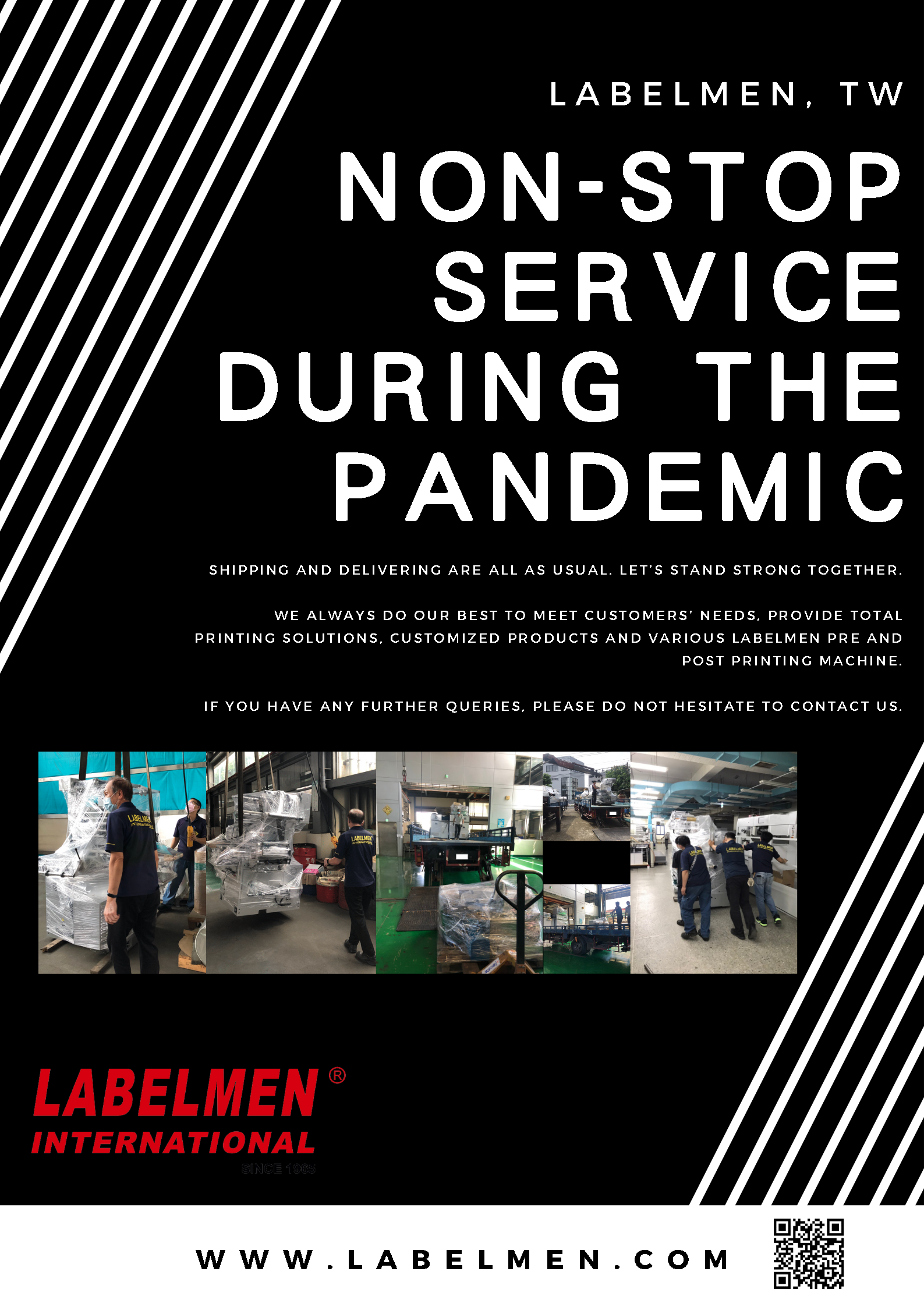 Non-stop service during the pandemic